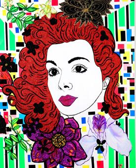 Anchorwoman, lover, confidante (Virginia Vallejo)