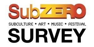 SubZERO-festival-survey-logo