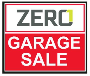 ZERO1_GARAGE_Sale