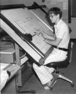 1970s Drafting