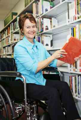 bigstockphoto_Librarian_In_Wheelchair_1884581-1 (2)