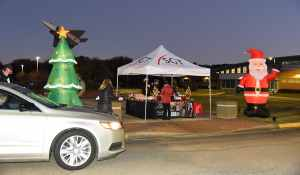 Approximately 300 cars and 1200 individuals participated in the SGTC Light Up Your Future Drive Thru event recently.