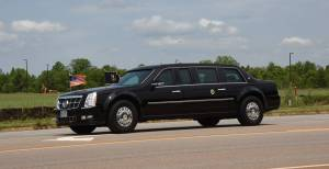 President Joe Biden and his motorcade passed in front of South Georgia Tech on South Georgia Tech Parkway on the way to talk with former President Jimmy Carter in Plains, GA.