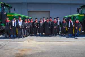 Pictured here are the latest graduates of the Agricultural Technology program at SGTC. The program is a partnership between South Georgia Technical College and John Deere.