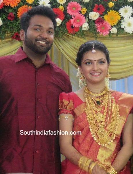 Saranya Mohan Wedding 3