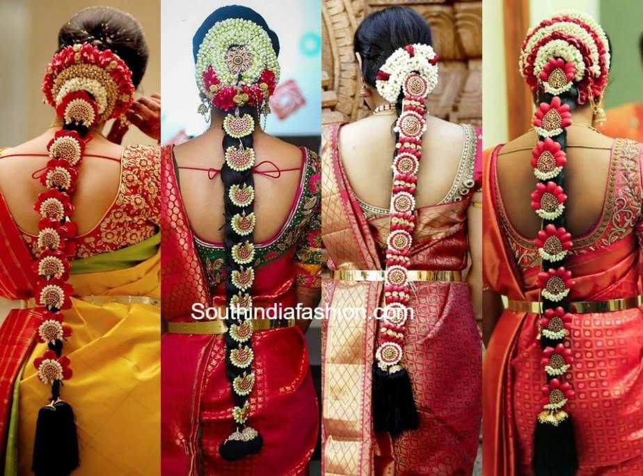 Stunningly Gorgeous Patterns Of Bridal Poola Jada Hairstyles