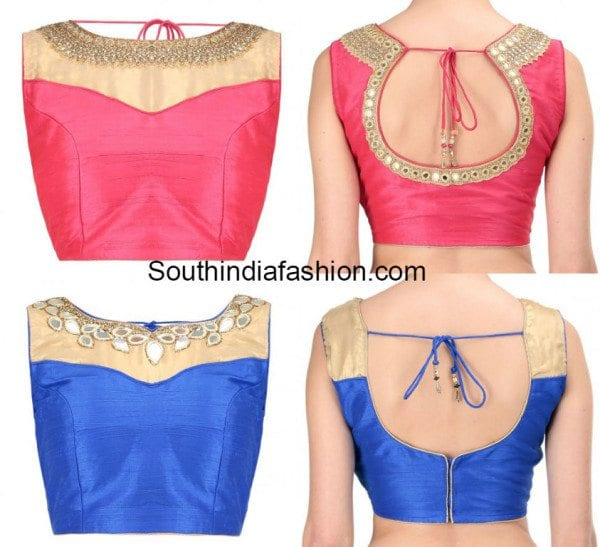 Indian Blouse Front Neck Designs For Boat Neck 25 Stylish Boat Neck Blouse Designs That Are Really Worthy Blouses Discover The Latest Best Selling Shop Women S Shirts High Quality Blouses