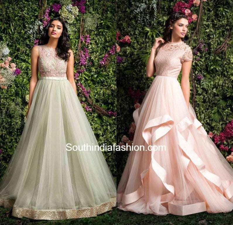Wedding Reception Gowns Indian | Invitationsjdi.org