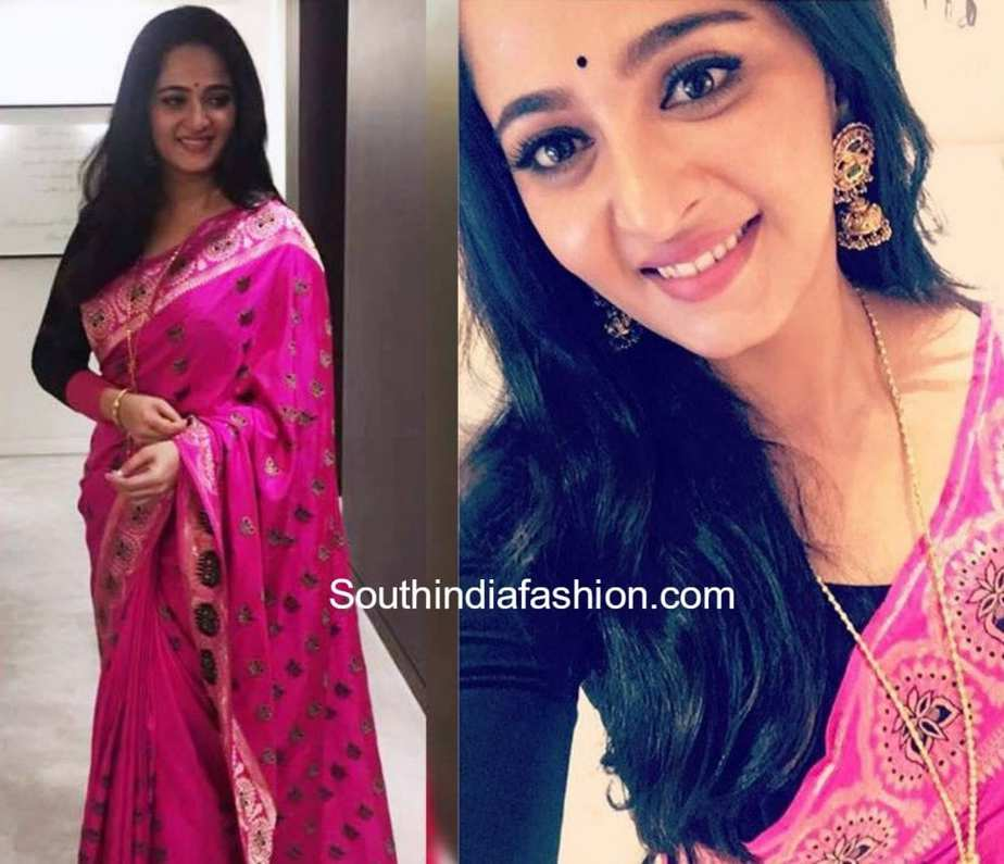 Anushka Shetty In Shravan Kumar For Baahubali 2 Promotions