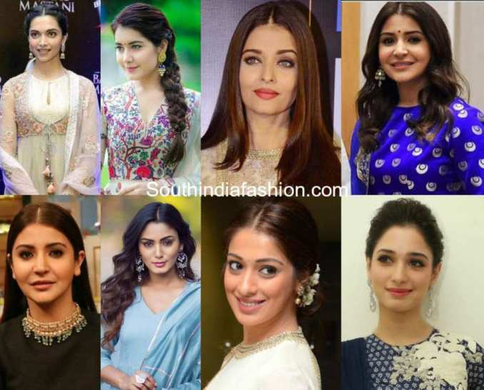 10 hairstyles that look perfect with anarkalis