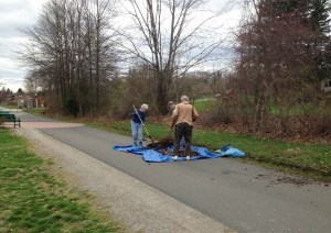 Earth Day Trails Clean Up