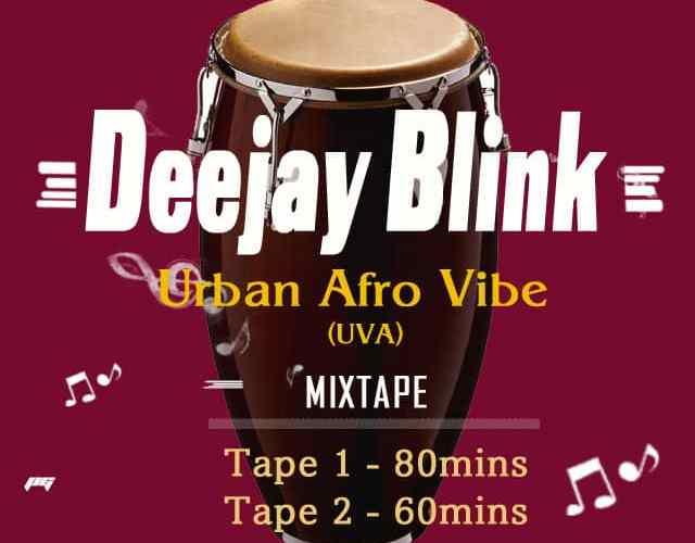 Deejay Blink – Urban Afro Vibe Mixtape – Artwork 1
