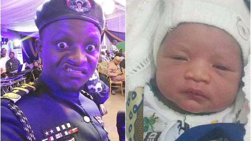 Famous Comedian / OAP General Odey Welcomes First Child