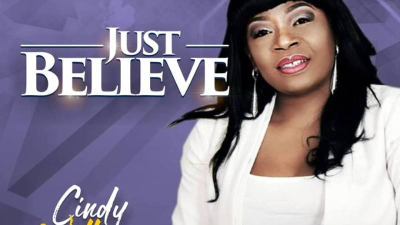 "Anticipate: Gospel Singer Cindy Williams Is To Drop Release A New Single ""Just Believe""."