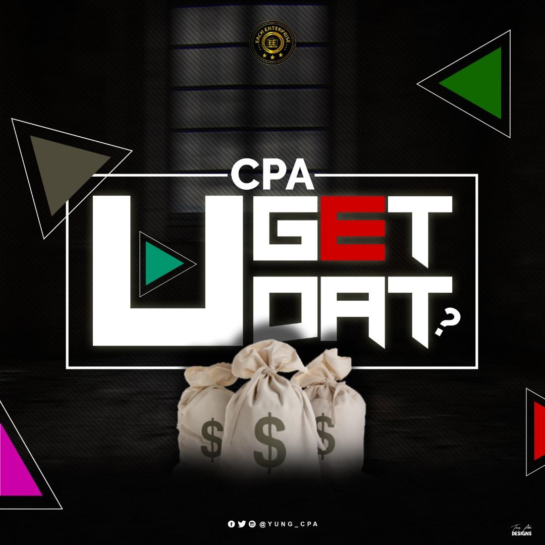 CPA – U Get Dat Artwork