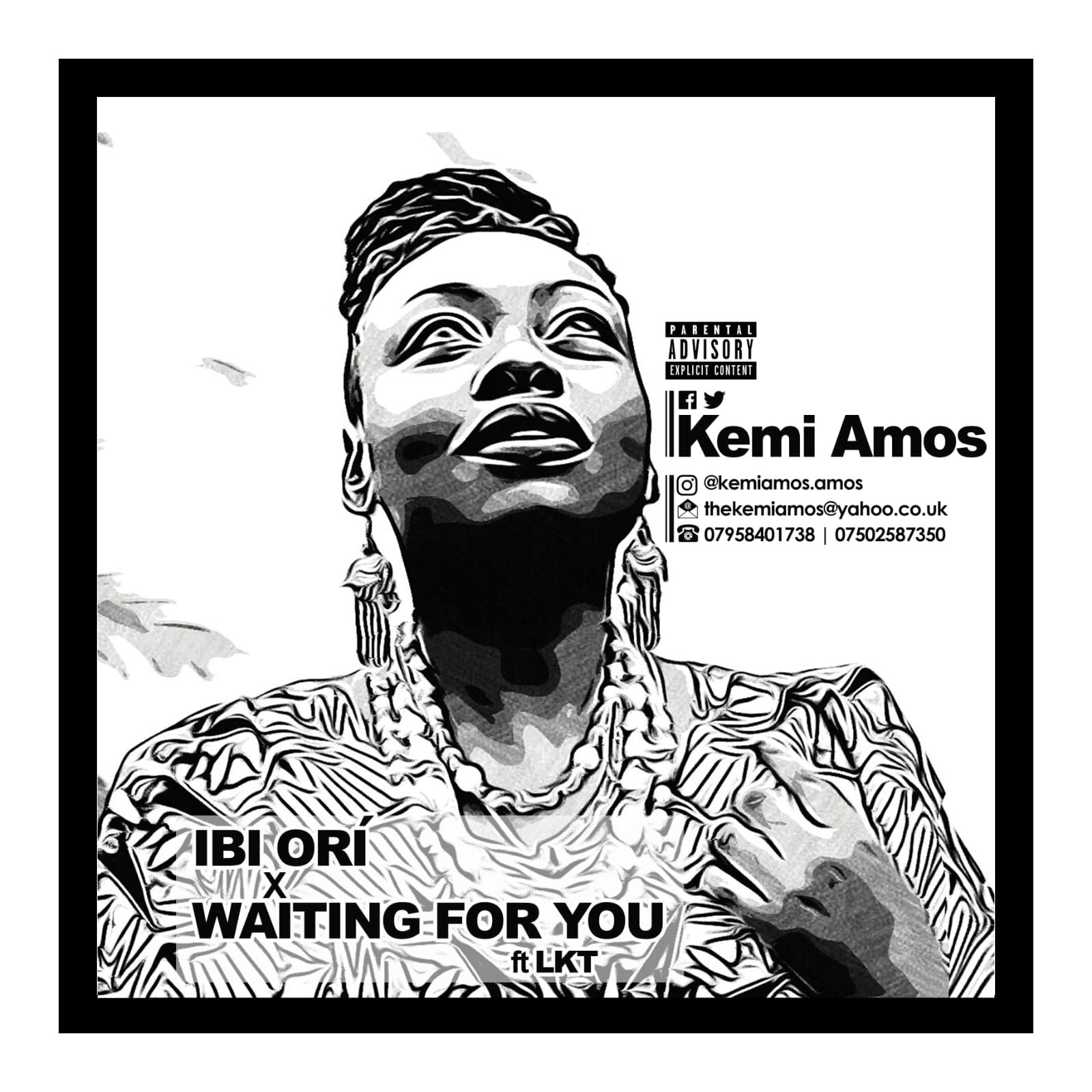 MUSIC: Kemi Amos – Ori + Waiting For You Ft. LKT