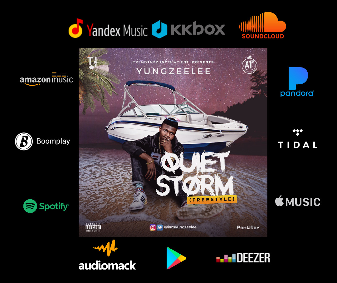 Yung Zeelee – Quiet Storm (Freestyle) Artwork