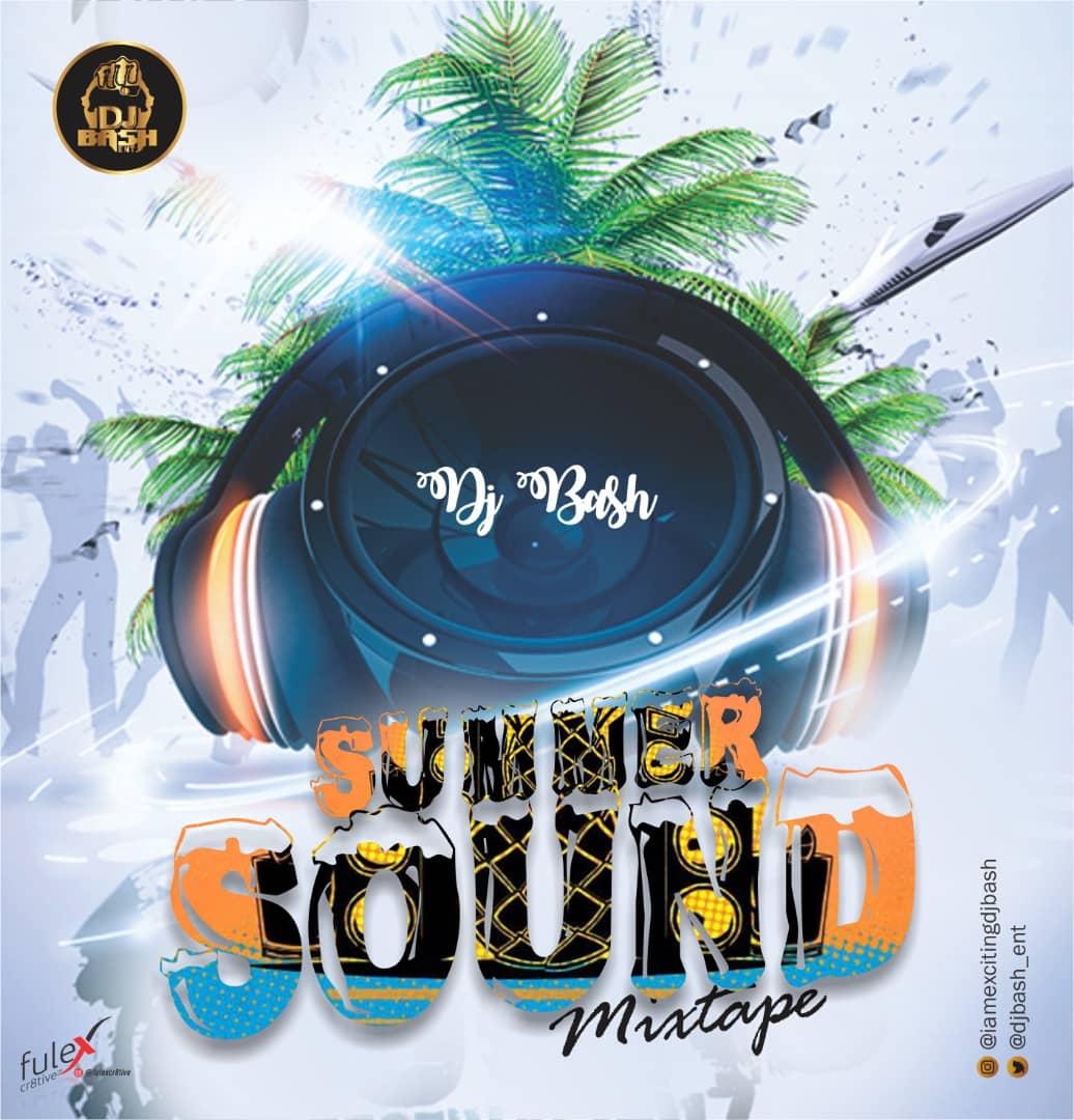 DJBash – Summer Sound Mixtape Artwork