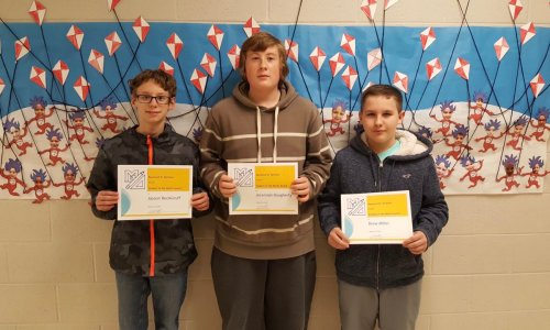 Mt. Ephraim School District Students of the Month