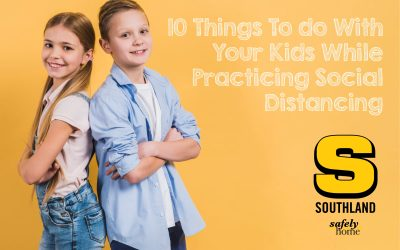 10 Things To do With Your Kids While Practicing Social Distancing