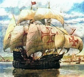 Portugese ship
