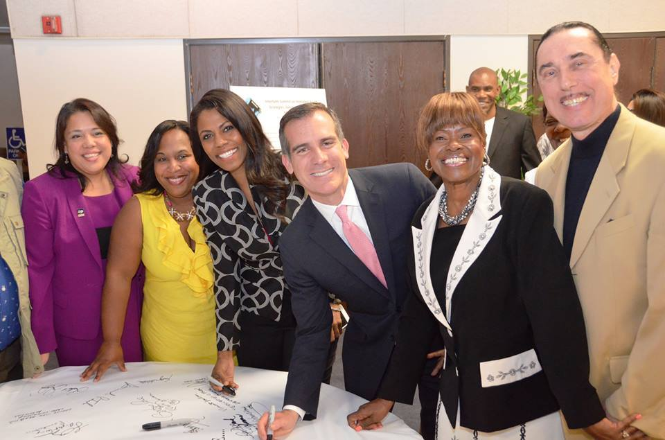 Mayor Garcetti Interfaith Summit Covenant of Engagement