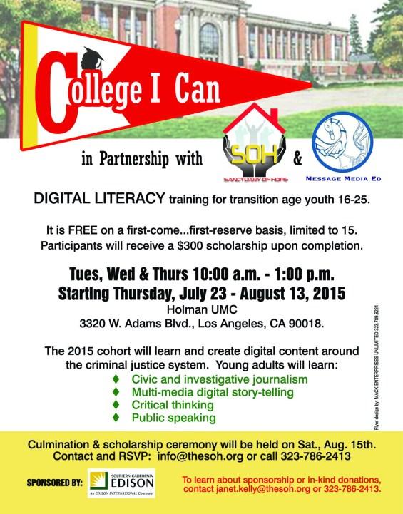 Digital Literacy July 2015