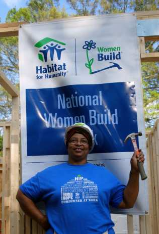 Habitat Charlotte_Women Build Lowe's Miss Doris
