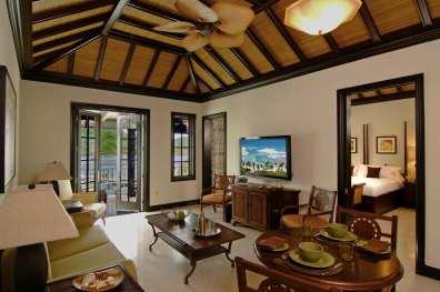 Ocean View Suite Living Room.CourtesyScrubIsllandresort