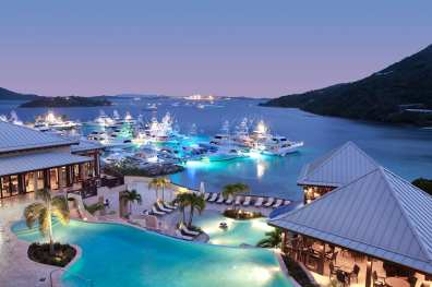 ResortDusk.CourtesyScrubIslandResort&Spa