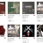 Currently Eminem's 15 Albums Are Charting On iTunes Top 200 Hip Hop Album | Get It Now