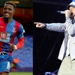 "Wilfried Zaha: ""I tried to rap like Eminem but couldn't do it"""