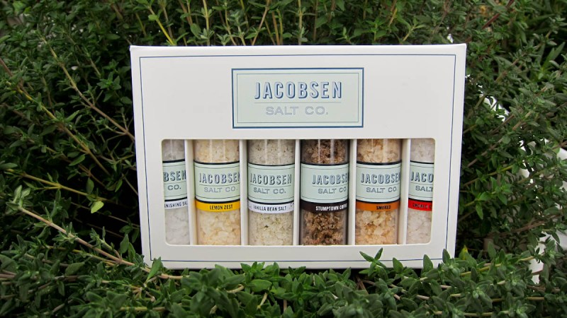 Jacobsen Salt Sampler – Salt Lovers Rejoice!
