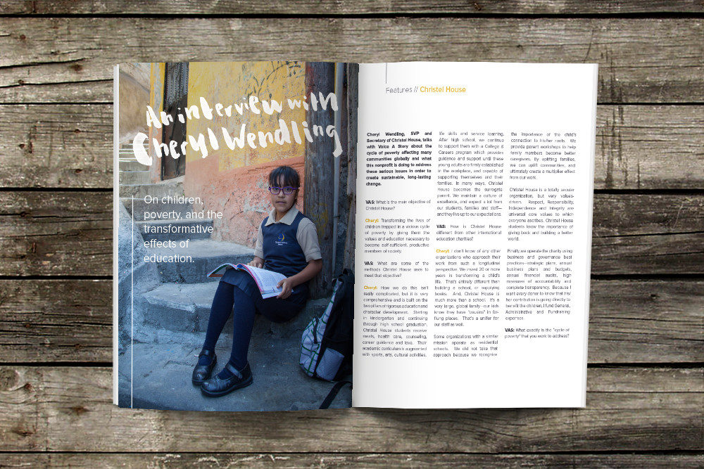 Voice A Story Magazine Publication Design | by South Ranch Creative