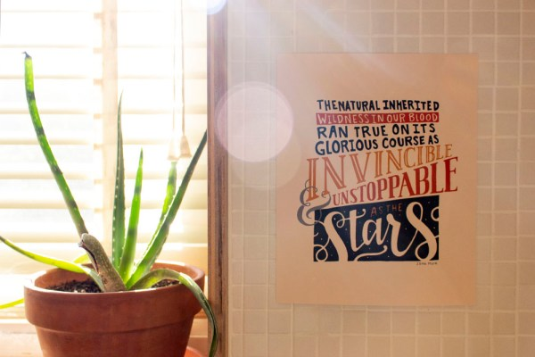 Unstoppable as Stars on Wall