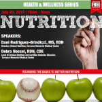 Nutrition Workshop, July 20