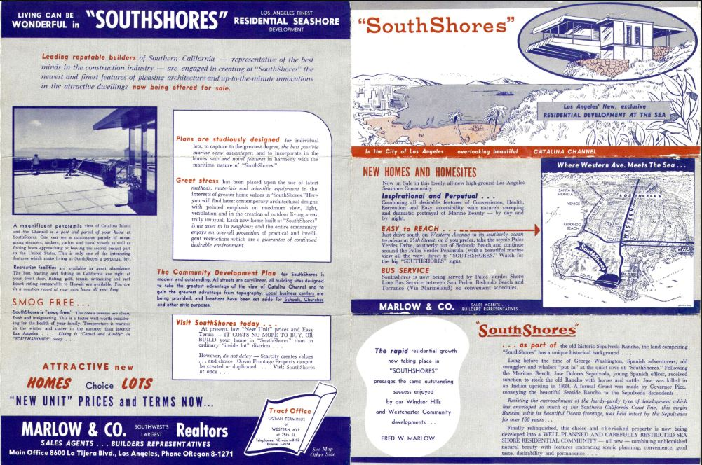 1955 south shores brochure - page 2