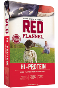 Red Flannel™ Hi-Protein Formula Dog Food