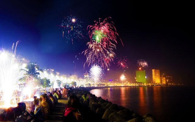 Diwali celebration in Mumbai