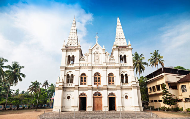 Santa Cruz Cathedral Basilica at Fort Kochi