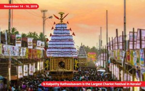 Procession of Kalpathy Chariot