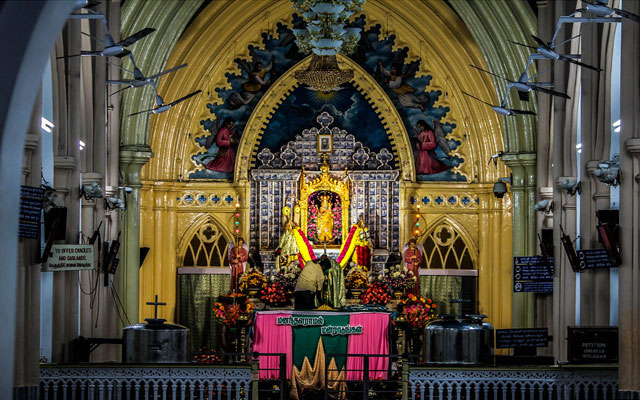 Shrine Basilica Velankanni, Tamilnadu