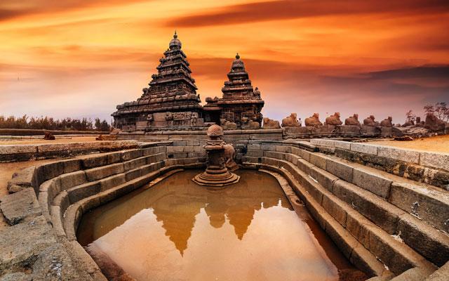Mahabalipuram shore temple