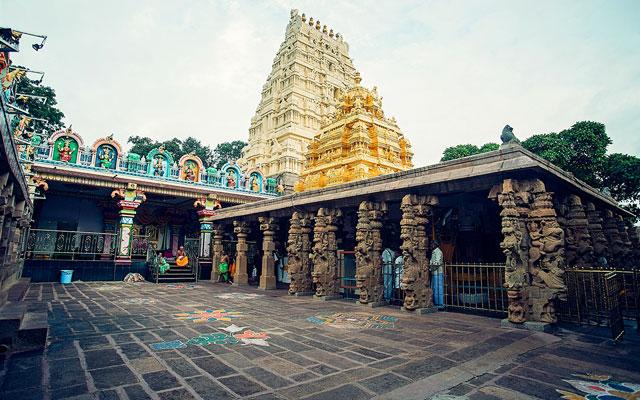 Mallikarjuna Temple, Srisailam