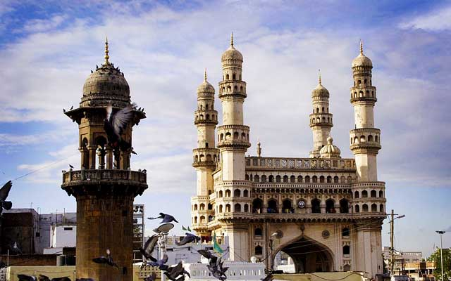Charminar monument in hyderabad
