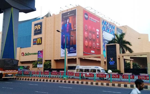 Lulu International Shopping Mall in Kochi, Kerala, india