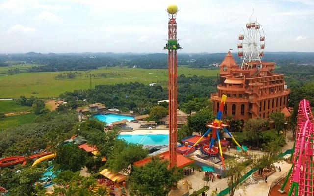 Wonderla Amusement park in Kochi, Kerala