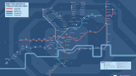 TfL Transport for London Night Tube Underground