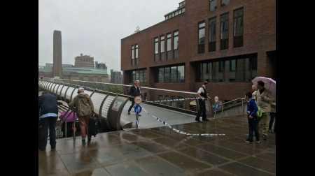 Millennium Bridge closure