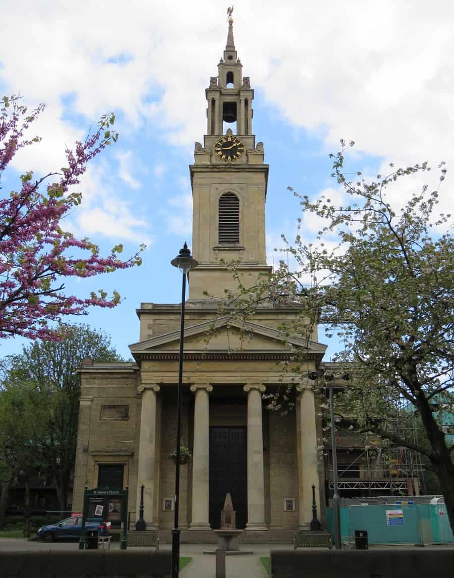 St James' Church in Bermondsey
